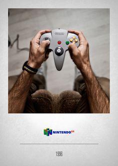 Projeto fotográfico revela a paixão do fotógrafo por video-games