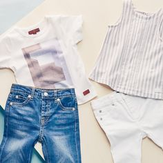 Dress the little ones in 7 For All Mankind.