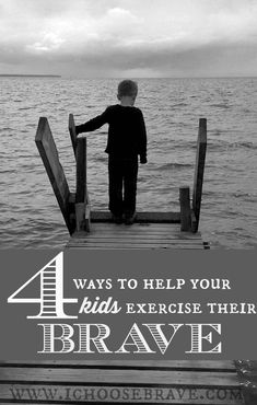 Raising brave kids is so important but it isn't always intuitive. Here are some great ways to intentionally help our kids live a brave life.