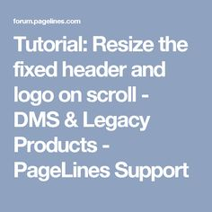 Pure css heart beat pulsing animation html5 css3 jquery tutorial resize the fixed header and logo on scroll dms legacy products malvernweather Choice Image