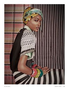 """Duchess Dior: """"Africa & the City"""" Nur Hellmann by Kenneth Willardt for…"""