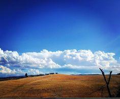 regram @pippina11 Di questo é fatta la vita solo di momenti da non perdere.  #siena #igerssiena #landscape #tuscanygram #sky #skylovers #meraviglia #sorrideresempre #stessiocchi #toscana #country
