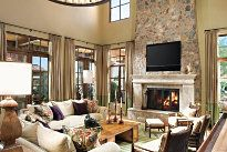 Great Room by Luxe Interiors & Designs