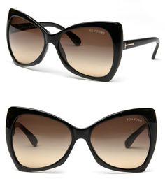 Women's - Tom Ford Sunglasses TF0175 Black
