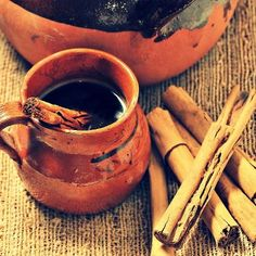 ~Cafe de olla~ Mexican coffee brewed with a blend of spices.