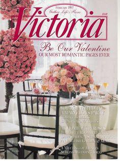 Victoria Magazine February 1997 Valentine Romance Roses Sublime Wedding Ideas