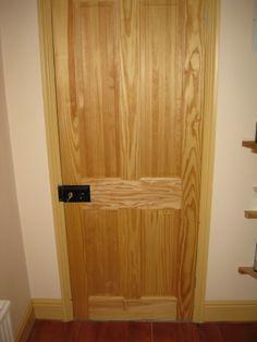 Four panel door & Oak 4 Panel Fire Door   Chislehurst Doors   Ramblers Rest ...