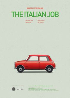 Cars from Movies | Inspiring Poster Series