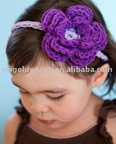 Google Image Result for http://img.alibaba.com/photo/458672317/100_Handmade_Crochet_Stretchy_Baby_Girl_Cotton_Headband_with_Flower_CH_5032_.jpg