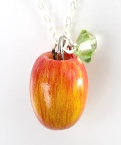 apple charms | apple necklace | Jillicious charms and accessories