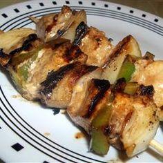 Marinated Chicken Kabobs -
