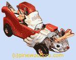 pinewood derby image - santa car
