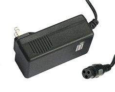 LotFancy 24V 15A 1500mA Electric Bike Motor Scooter Battery Charger Power Supply Adapter For Razor Pocket Mod Bella Betty Bistro  Daisy ** See this great product.