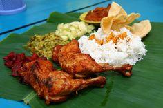 Nasi Kandar, Malaysian Indian food