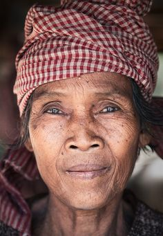 Beautiful face, Cambodia