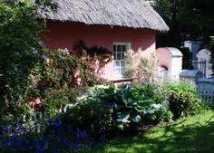 Image result for irish garden cottage