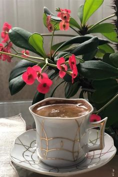 Coffee Latte Art, Coffee Love, Coffee Break, Coffee Shop, Coffee Coffee, Café Chocolate, Turkish Coffee Cups, Watermelon Art, Coffee Images