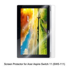 Clear LCD PET Film Anti-Scratch / Touch Responsive Screen Protector Cover for Acer Aspire Switch 11 (SW5-111) Tablet Accessories