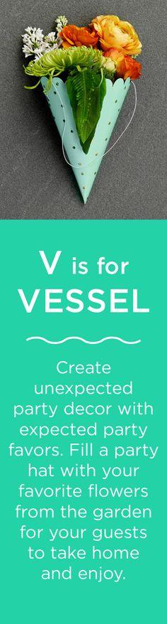 V is for VESSEL