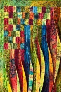 Awakening, detail, Janet Hiller