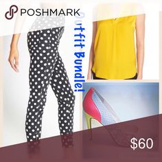 🎉FLASH SALE🎉80's VINTAGE Polka-Dot Guess Jean Hard to find pair of vintage Guess jeans straight outta the 80's! These jeans are black and white polka dots, a super high waist and a tapered leg with a side ankle zip! These babies are the real deal👍🏼 and the fit is amazing! They have a fairly small waist for the amount of room they provide in the rear, so if you're one of the lucky few blessed with big booty on a small frame then these will look even more amazing! Tagged a size 29 but the…