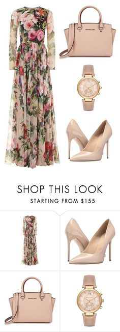 """""""Untitled #95"""" by enaleille ❤ liked on Polyvore featuring Dolce&Gabbana, Massimo Matteo and Michael Kors"""