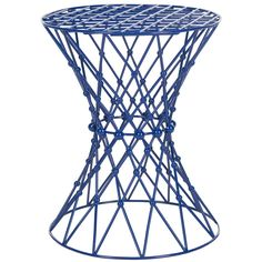 An intricate web motif crafted of iron, lends a sculptural aura to the Charlotte Web stool. The delicate see-through effect is enhanced with a black matte epoxy finish that complements transitional and contemporary interiors. Use this artistic-looking but sturdy stool beside a chair or sofa or for extra seating.