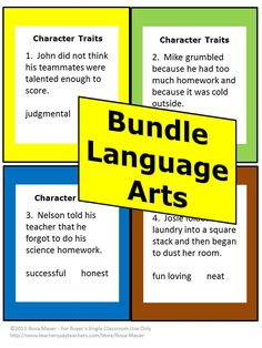 Language Arts Bundled Task Cards will save you time and money. Save more than 20% by purchasing this Language Arts Task Card bundled set. See below for topics included in this 12-product combination set. Items include task cards and some worksheets.