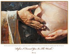 """Renowned painter and illustrator Ron DiCianni recently finished his first pro-life piece entitled """"Before I Formed You in the Womb."""""""