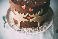 marzipan moose mousse cake recipe, via molly yeh