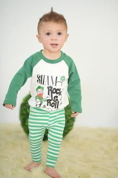 0b9e0690a 7 Lucky Baby Boy St. Patrick's Day Outfit Ideas for Newborns through  Toddlers