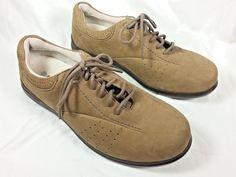 Aravon Women's Shoe Size 10D WEF07SH Farren By New Balance Brown Leather Lace Up #Aravon #Oxfords #Casual