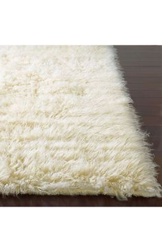 Rugs USA Standard Shag Greek Flokati Natural Rug now 75% off