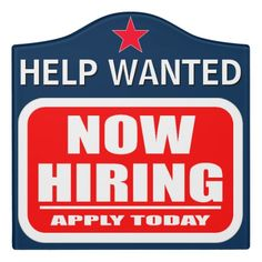Shop Now Hiring Help Wanted Job Vacancy Announcement Door Sign created by ShabzDesigns. Now Hiring Sign, We Are Hiring, Room Signs, Wall Signs, Hiring Employees, Job Help, Help Wanted, Fun Signs, Business Signs