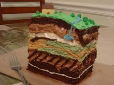 La Géologie en pâtisserie