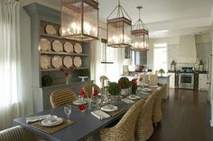 kitchen and dining in one
