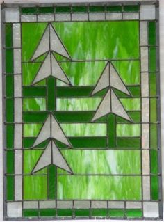 stained glass pine tree - Google Search