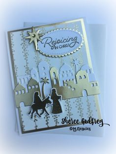 Night in Bethlehem cards Stampin' Up!  By Sheree Godfrey