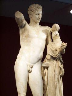 hermes, c. 230-310 BC, Praxiteles