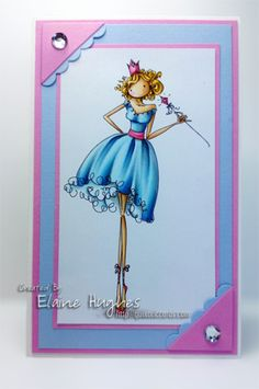 Use for copic colouring ideas.  Faith the Fairy by Quixotic - Cards and Paper Crafts at Splitcoaststampers