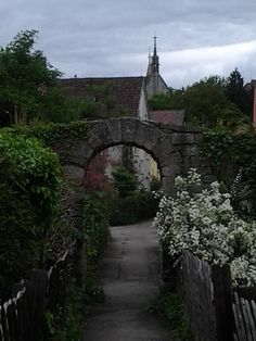 gateway in Bebenhausen, Germany