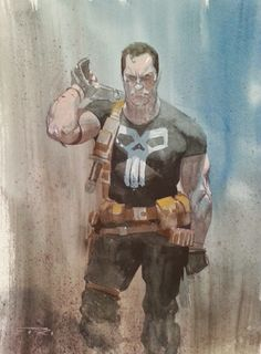 The Punisher by Esad Ribic
