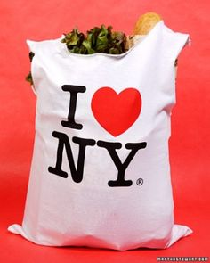 """See the """"T-Shirt Bag"""" in our Classic Crafts from ''The Martha Stewart Show'' gallery"""
