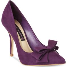 STEVEN by Steve Madden Ravesh Pumps (€47) ❤ liked on Polyvore featuring shoes, pumps, heels, purple shoes, purple stilettos, purple high heel pumps, high heel shoes, pointed-toe pumps and high heeled footwear