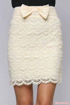 Longer skirt and it'd be cute!
