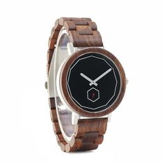 BOBO BIRD LM29 Luxury Men Red Wooden Watches Modern Stainless Steel Watch Gift #BoboBird #Casual