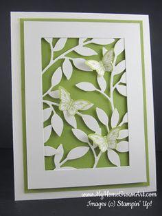 My Home Grown Art: Little Leaves & Butterflies