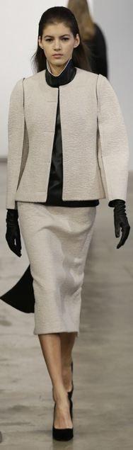 Calvin Klein Pre-Fall 2013  #classic   #timeless   PattyonSite