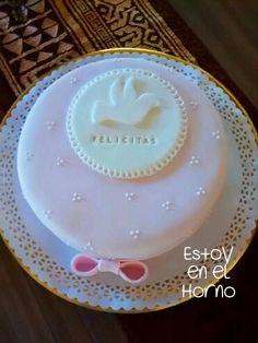 Torta de comunion nena