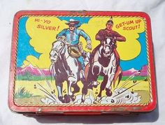 vintage lone ranger lunch boxes - Bing Images